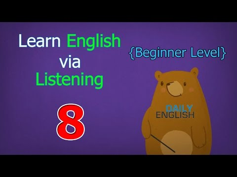 Learn English via Listening Beginner Level | Lesson 8 | Mark's Big Game