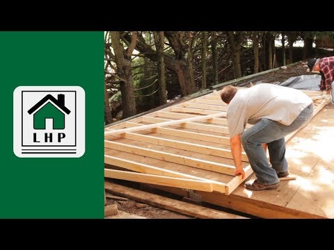 Building and Erecting Shed Walls - LHP