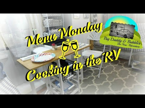 Menu Monday in the RV - Ribs and Vegetable Casserole