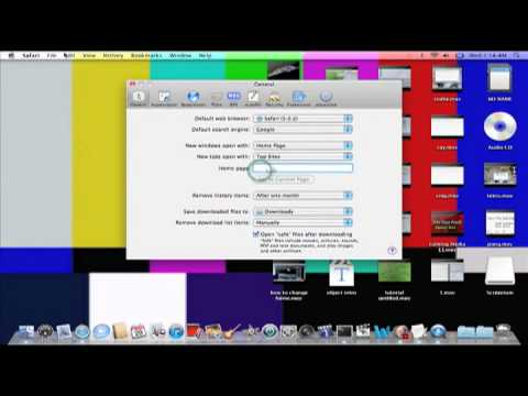 How to change your homepage with safari