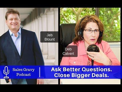 Ask Better Sales Questions. Close Bigger Deals.