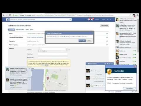 How To Change Facebook Page Name Change After 200 LIKES !!!!