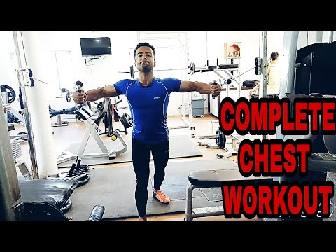 Complete chest workout at gym - 100% guaranteed result | BUILD BIGGER CHEST MUSCLES FAST