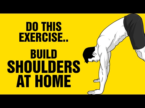 Build Amazing Shoulders at Home With This Exercise :  How To Do The Pike Pushup