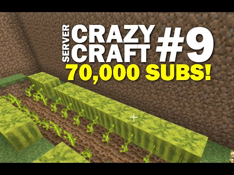 Minecraft PS4 - 70K SUBS ! Livestream - #9 CRAZY CRAFT - LET'S PLAY ( PS3 / XBOX )