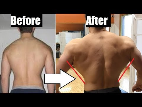 The Easiest Way To Grow A Wide V-Taper Back (Back/Waist Ratio)