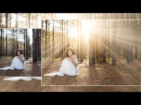 Photoshop Tutorial : How to Create Realistic Light Rays in Photoshop