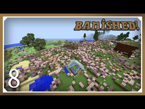 Minecraft Banished Modpack | Update Problems! | E08 (Harsh Survival Minecraft 1.10.2)