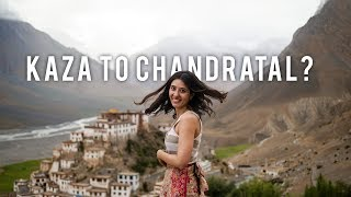 Spiti Valley Ep 3 | Spiti Valley Road Trip From Kaza to Chandratal Lake |  Tanya Khanijow