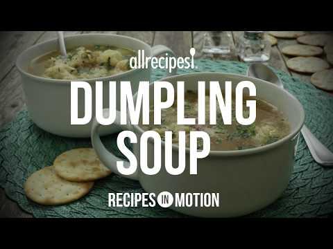 How to Make Dumpling Soup | Soup Recipes | Allrecipes.com