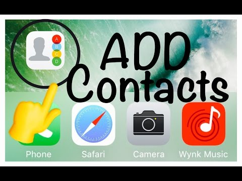 How to ADD / PUT Contacts to homescreen IPHONE ( NO JAILBREAK REQUIRED )