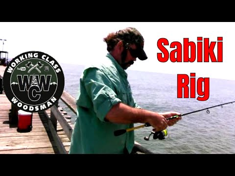Fishing for Pinfish With a Sabiki Rig for Bait