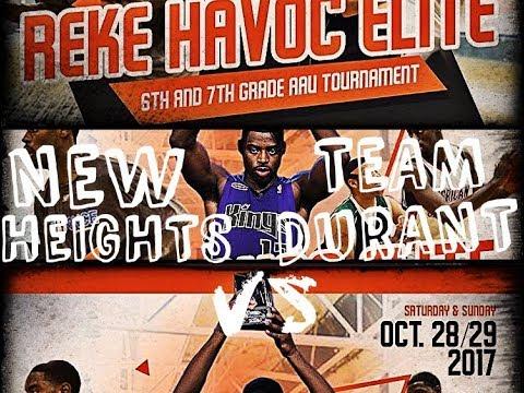 Reke Havoc Elite   New Heights vs Team Durant   2017