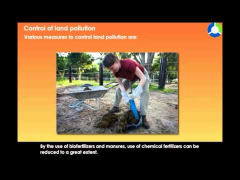 Control of Land Pollution