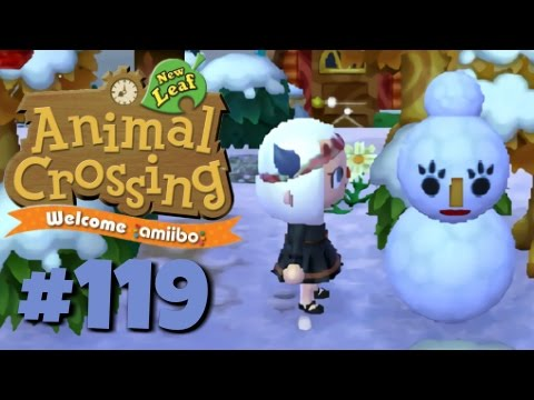 Let's Play Animal Crossing: New Leaf - Welcome amiibo :: #119 :: Yes, Snowmam (1080p gameplay)