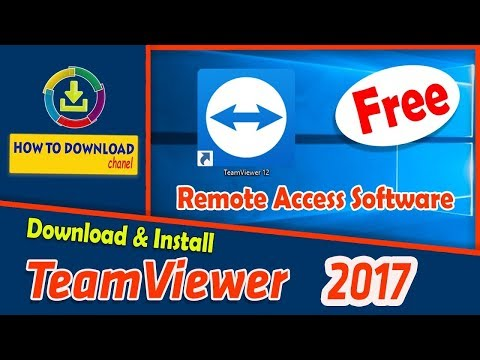 How to Download/Install Team Viewer 12 full version free 2017 by raju ahmed