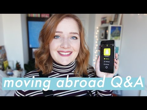 Moving Abroad Q&A | Making Friends & Creating a Home | Booksandquills.
