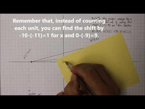 204M8 Part 3  Scale Factor with Non-Origin Center