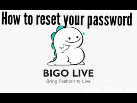 How to reset your password in bigo live app.