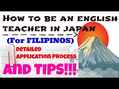 Teaching English in Japan | Filipino ALT Application Process | My Personal Experience