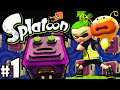 Splatoon Wii U PART 1 Octo Valley Single Player ...