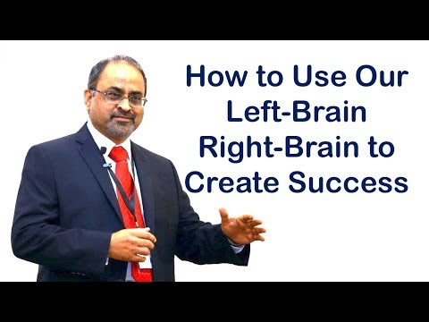 How to Use Your Left-Brain, Right-Brain to Create Success