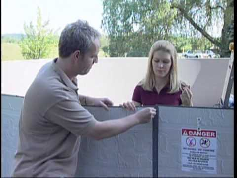 Round Above Ground Pool Installation from Pool Supplies Canada