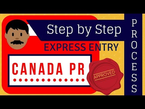 Canada PR  Step by Step Process ( Express Entry Canada 2018)