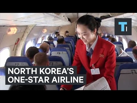 North Korea's one-star airline