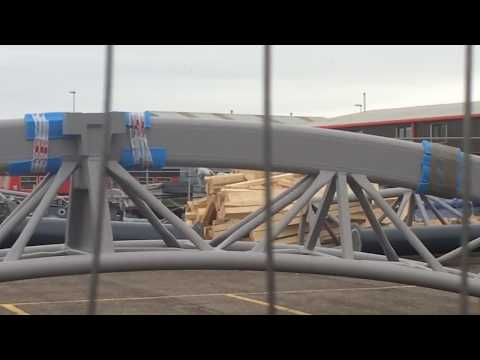Blackpool Pleasure Beach - Icon Construction Update- 24th December 2017
