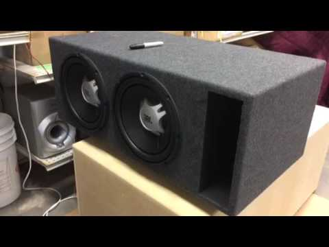 Ported box build for 2-12