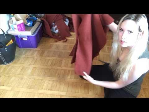 How to make a viking hood!