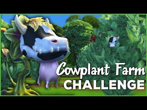 A Bountiful Bovine Harvest!! 🐄🌱 Sims 4 Cowplant Farm: Episode #35