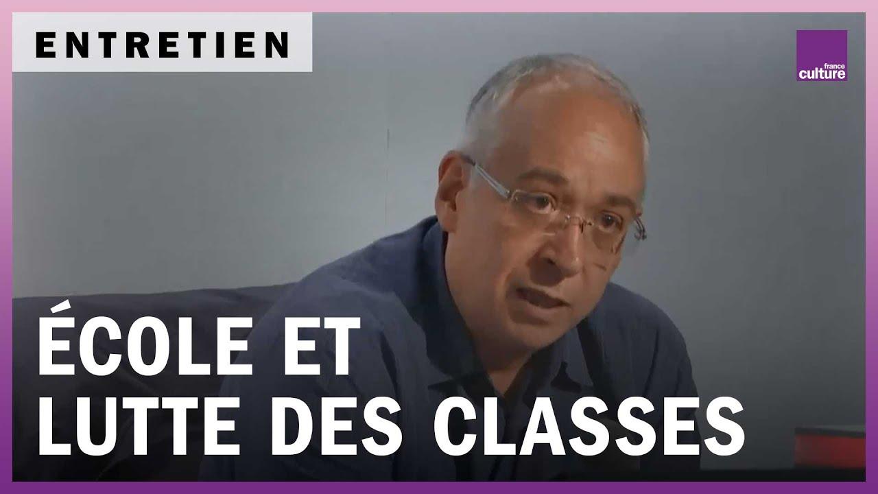De la lutte des classes à l'école, avec le sociologue Bernard Lahire