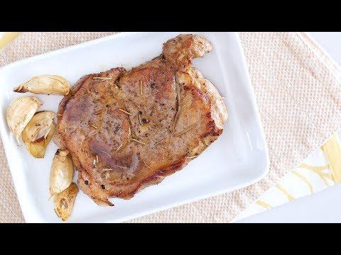 Pan-fried Pork Steak Recipe | Yummy Ph