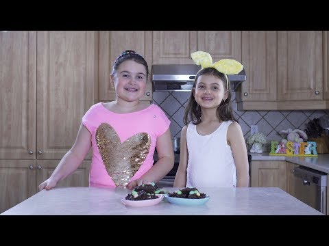 Baking with Melody & Holly {Chocolate Birds Nests} Ep5
