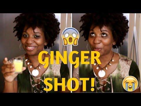 GINGER SHOT   QUICK & EASY!