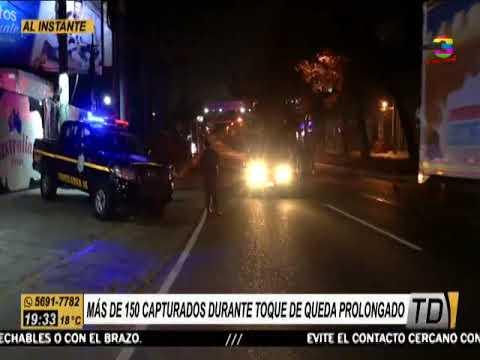 Policía lleva a cabo operativos de vigilancia durante este toque de queda total