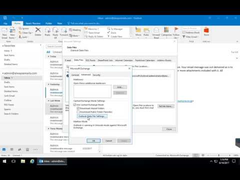 Outlook 2013/2016 - How to compact OST File