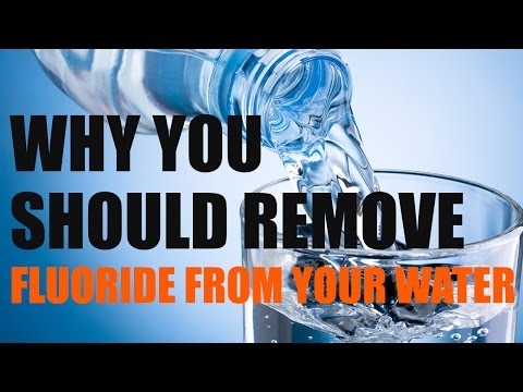 Why You Should Remove Fluoride from Your Water