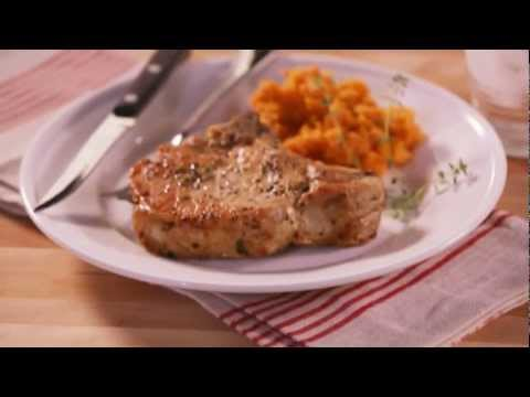 Easy Pork Recipe - How to Bake Pork Chops