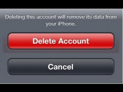 How to Delete An Email Account in iPhone and iPad Completely