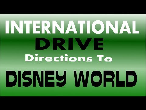 INTERNATIONAL DRIVE TO DISNEY WORLD - PANASONIC HC X920
