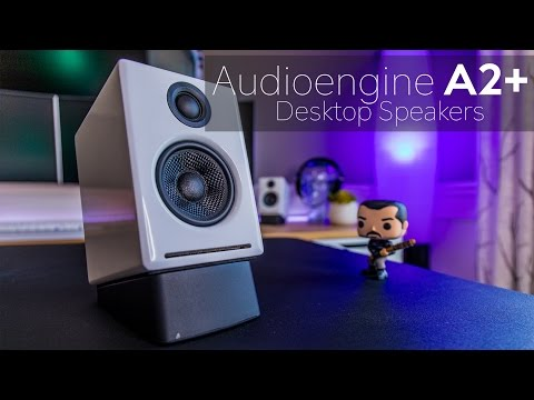 Audioengine A2+ Powered Desktop Speaker Review - Big Sound in a Small Package