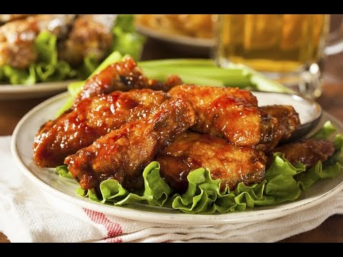 Oven BBQ Chicken Wings -- The Frugal Chef