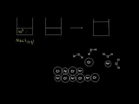 Dissolution and precipitation | Chemical reactions and stoichiometry | Chemistry | Khan Academy