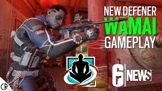 Gameplay & Loadout - Wamai New Defender - Shifting Tides - Gadgets - Tom Clancy's Rainbow Six Siege