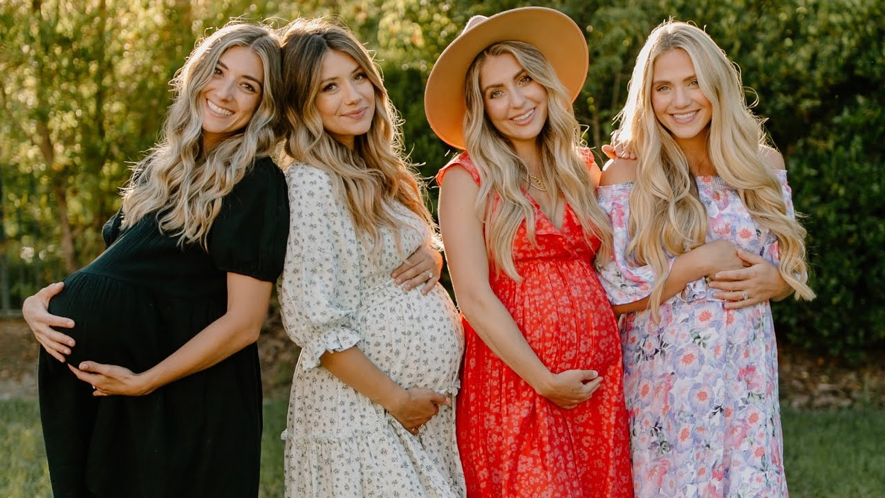FOUR SISTERS PREGNANT TOGETHER! WAS THIS PLANNED?