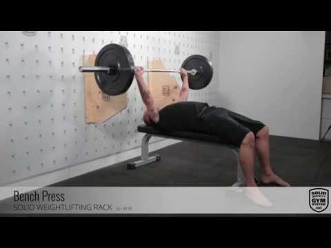 SOLID Weight Lifting Rack - Bench Press