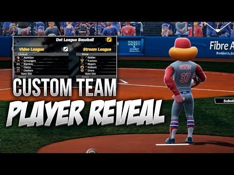 Super Mega Baseball 2 Custom Team and Player Reveal